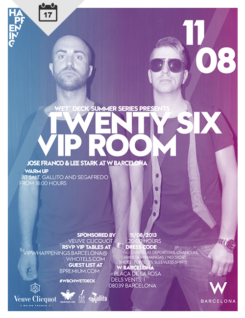 Twenty Six Vip Room at W