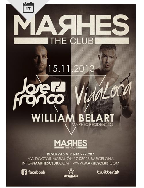 Jose Franco @ Marhes Club Barcelona